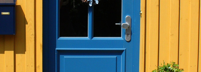 Tür lackieren