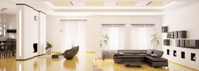 Decken und Wände mit Profilleisten gestalten